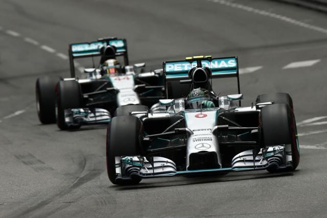Mercedes-AMG PETRONAS F1車隊再度贏得摩納哥站冠亞軍