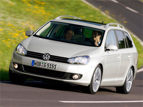 Volkswagen Golf Variant 1.4 TSI:一起去旅行吧