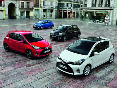 大改款 Toyota Yaris規格數據曝光,hybrid油電混合動力上身!
