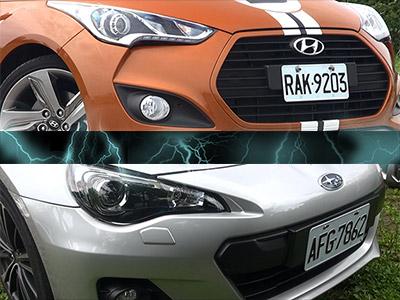 2014 Hyundai Veloster 1.6 Turbo試駕(操控對決 Subaru BRZ)!造型前衛、一不小心就上手