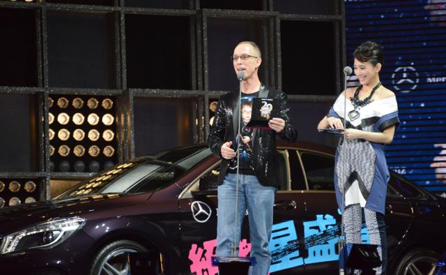 Mercedes-Benz -星盛事 2014 hito流行音樂獎頒獎典禮:未上市車款The new GLA 伴歌王林俊傑首度現身