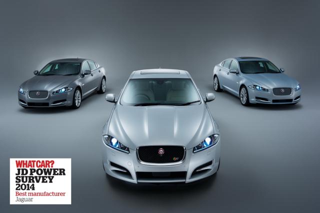 JAGUAR連續三年榮獲WHAT CAR?/J.D.POWER評選為最佳汽車品牌