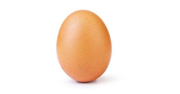 Instagram 史上點讚最多的照片,居然是一顆蛋