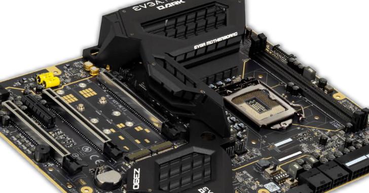 EVGA 極限超頻主機板登場,擁有特殊設計的 Z390 DARK 要價美金 499.99 元