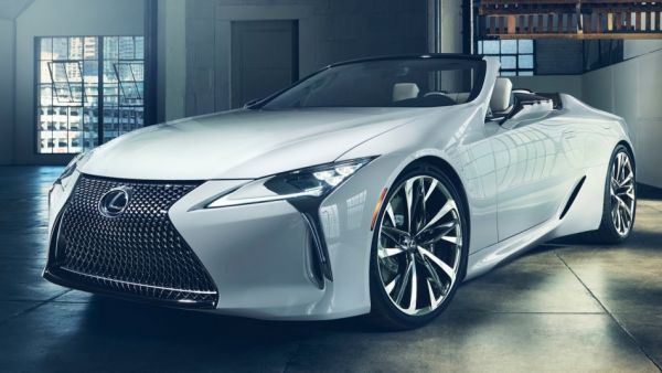 「美型敞篷」魅力無法擋,Lexus LC Convertible Concept「定裝照」發布,實車將於「底特律車展」亮相!