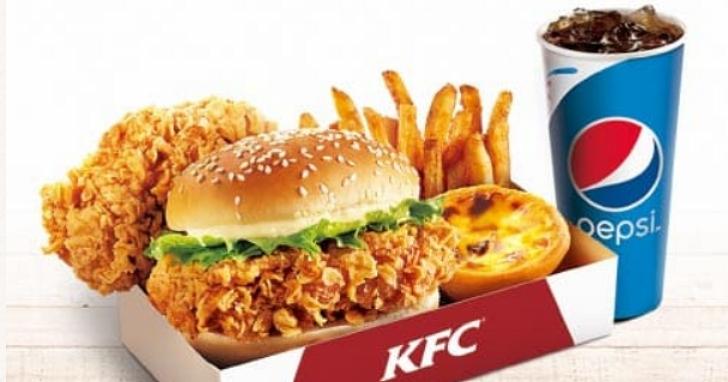 午餐變貴了!肯德基宣佈今天起餐點漲價,平均調幅約5%