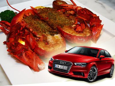 Audi車主獨享專屬「夏艷Audi」套餐,出示 Audi車鑰匙才有的優惠!