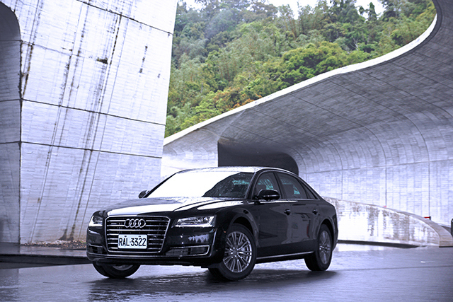 2014 Audi A8 L 50 TFSI quattro試駕:優雅貴公子