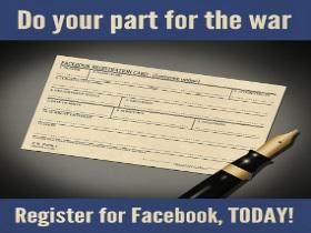 Facebook、Google+、Twitter 三國大戰:有趣的宣傳海報