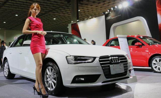 2014新車大展開跑!Audi汽車以高規格打造專屬展示區