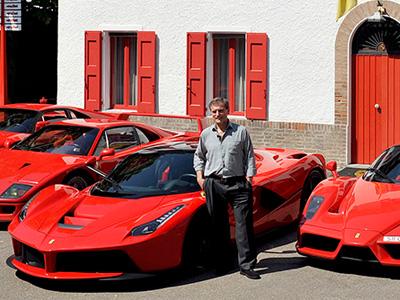 慶祝 Ferrari LaFerrari交車,親朋好友開著 Ferrari 288 GTO、F40、F50、與 Enzo等超跑到義大利!