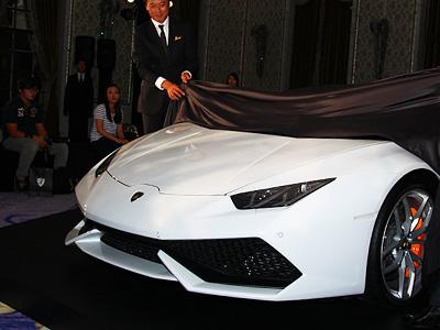 新藍寶堅尼小牛跟著颱風登台!1508萬元 Lamborghini Huracán LP 610-4超跑正式在台發表!