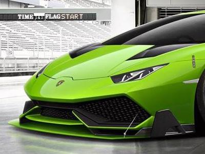 【熱門話題】Lamborghini Huracan Super Trofeo賽車假想圖