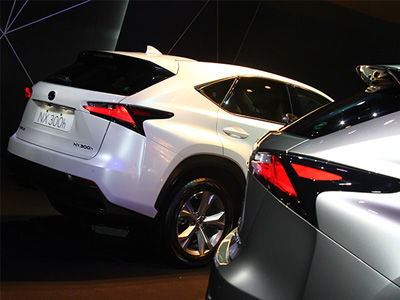 LEXUS NX 300h油電複合動力休旅車正式在台上市,售價189~219萬元!