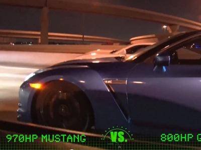 970匹馬力 Ford Mustang飆到225km/h被攔下,員警竟輕易放人!