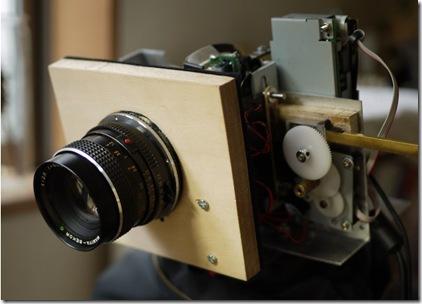 掃描器土砲改裝:自作一億像素的數位相機