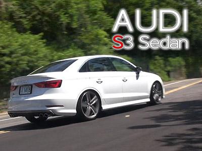 2014 Audi S3 Sedan試駕:緊緻的性能跑房車
