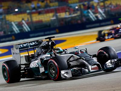Mercedes-Benz本季第11次擁冠,Hamilton技壓群雄!