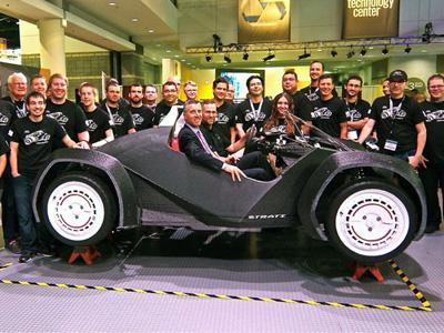 世界第一輛3D列印汽車現身,零件只要44小時就印製完成!