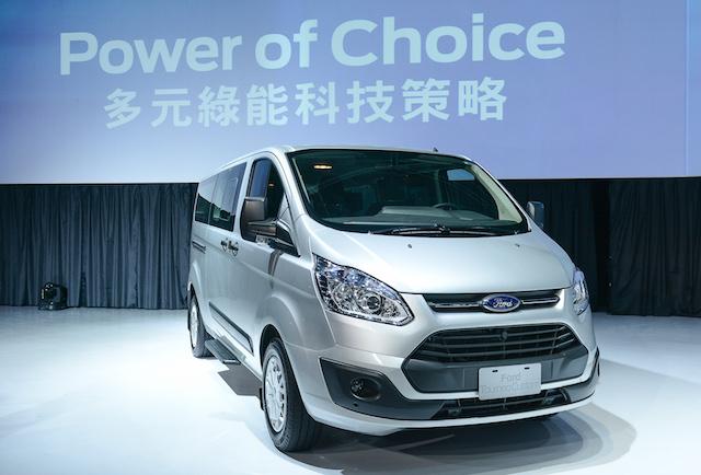 新世代商旅車系「福特旅行家」(Tourneo Custom)正式入台