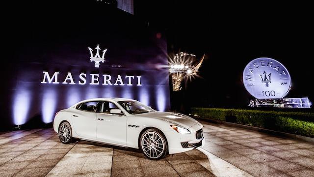 Maserati 百年傳世盛典 再啟世紀風華