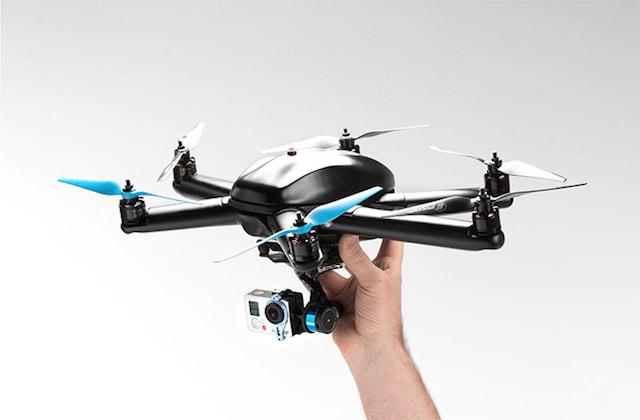 Hexo Plus(H+)自動遙控直升機,讓 GoPro抓住你每個帥氣的表情!
