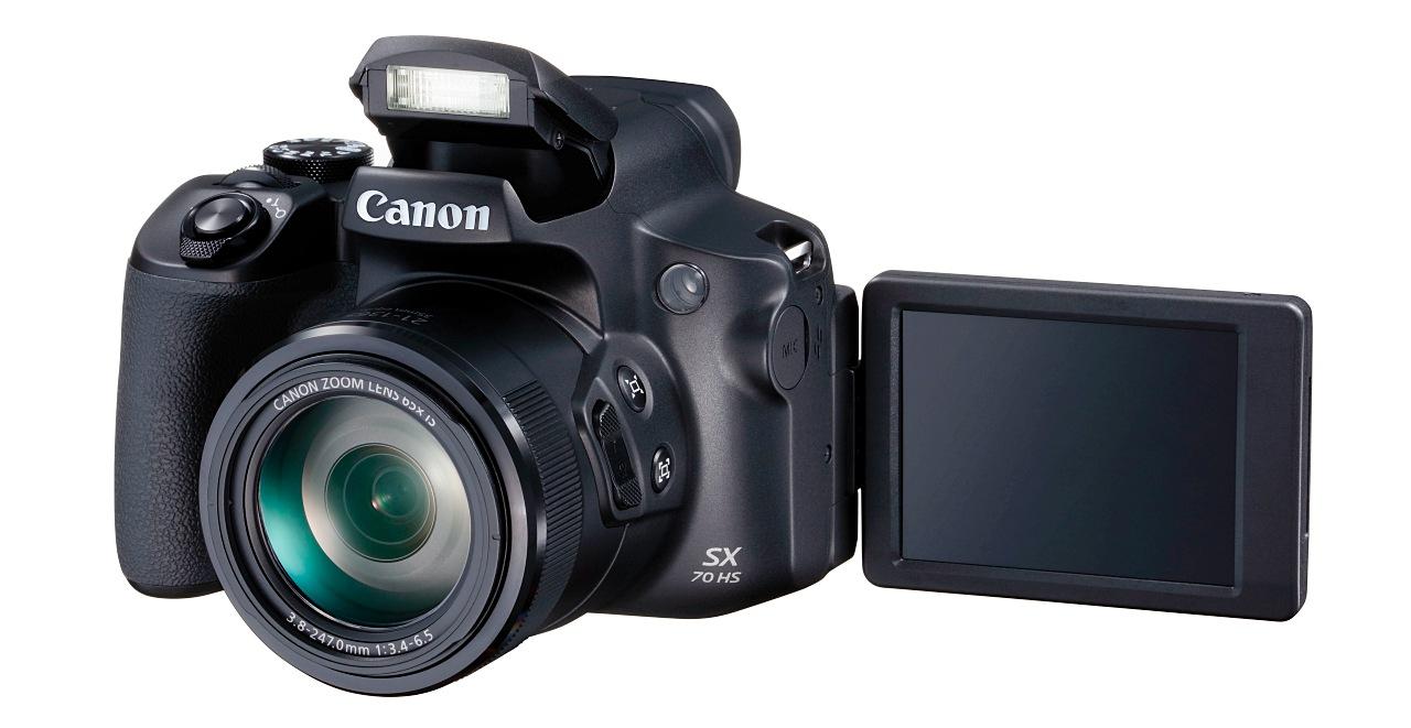 兼具21mm超廣角以及65倍光學變焦,Canon SX70 HS類單眼在台上市