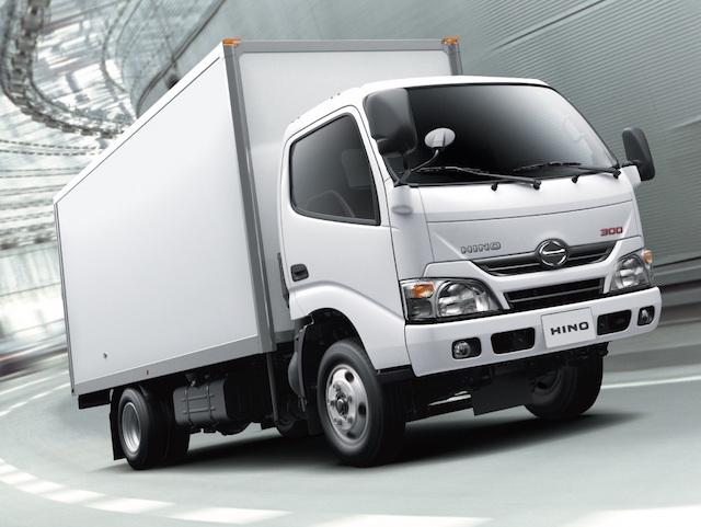 2014年HINO連續第五年稱霸國內大型商用車市場