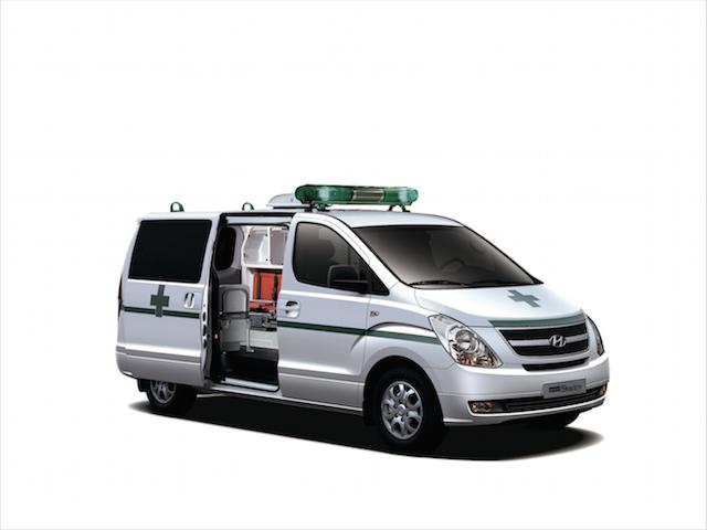 Hyundai 捐贈 21台 Starex:全力協助西非國家對抗伊波拉病毒!