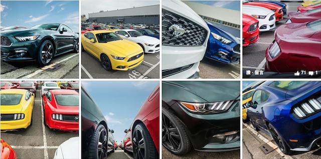 台北港直擊! 2015 Ford Mustang 導入8款車色