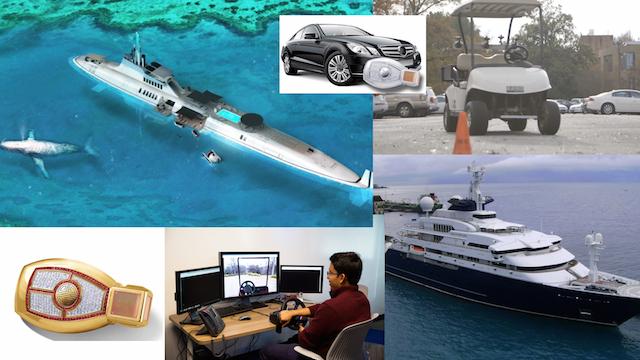 潛水艇將成富人們的新玩具!前後霧燈到底幾時開?