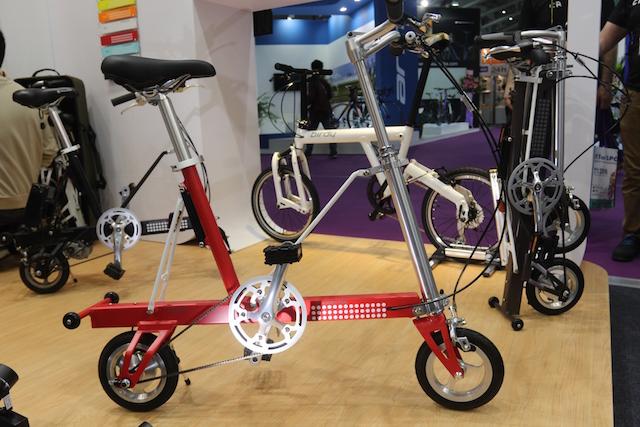太平洋自行車在台北國際自行車展出多款新車