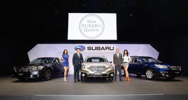 2015 Subaru Legacy、Outback發表:品牌全年銷售目標6500輛