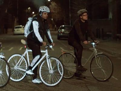 Volvo LifePaint反光噴漆,夜騎人士必備的保命神器!