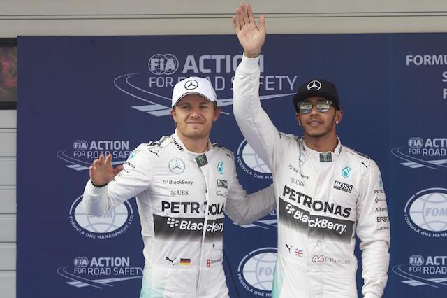 F1賽事報捷:Mercedes-AMG PETRONAS神州揚威