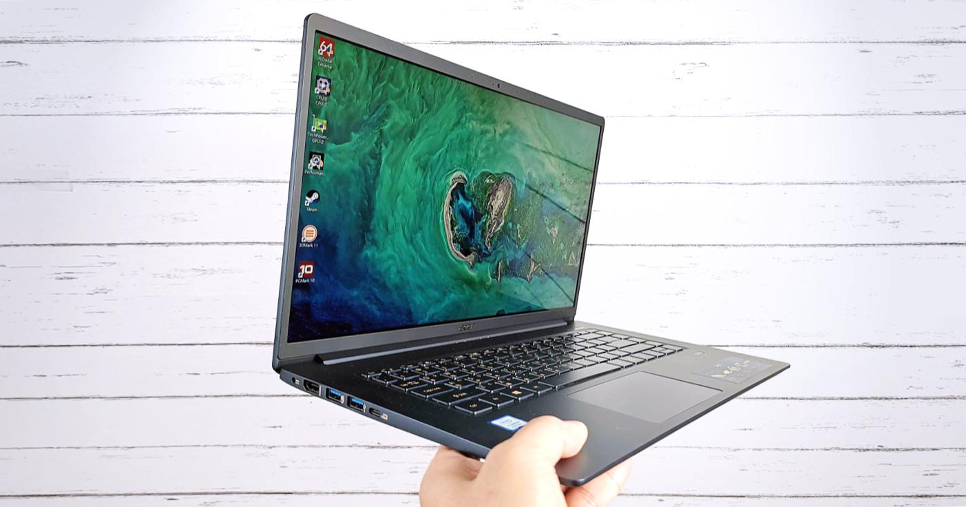 Acer Swift 5 動手玩:同級最輕僅 999 克,極窄邊框帶來絕佳視野!