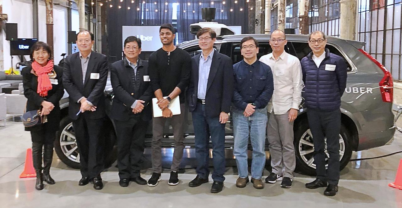 科技部參訪 Uber 總部,「前瞻科技中心」邀 Uber 加入國際新創基地計畫