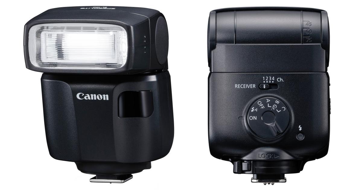 Canon 發表入門型輕巧閃燈 Speedlite EL-100,重量僅 190g