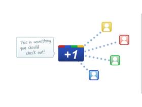 Google +1 按鈕更新,分享資訊更容易