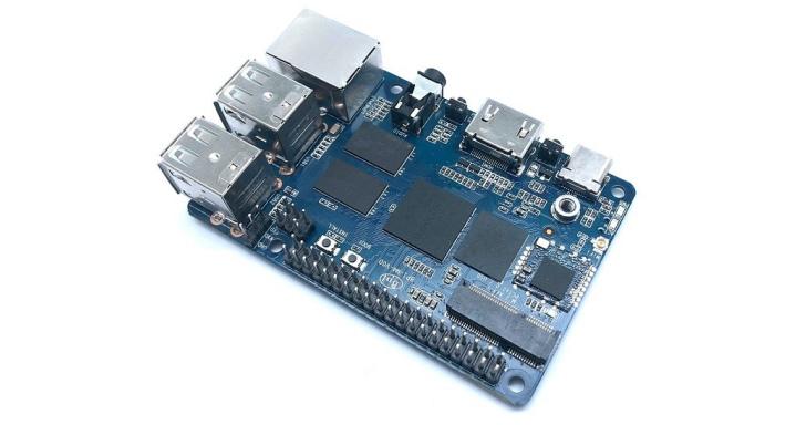 Banana Pi BPI-M4單板電腦內建M.2插槽,支援Android 8.1與Linux