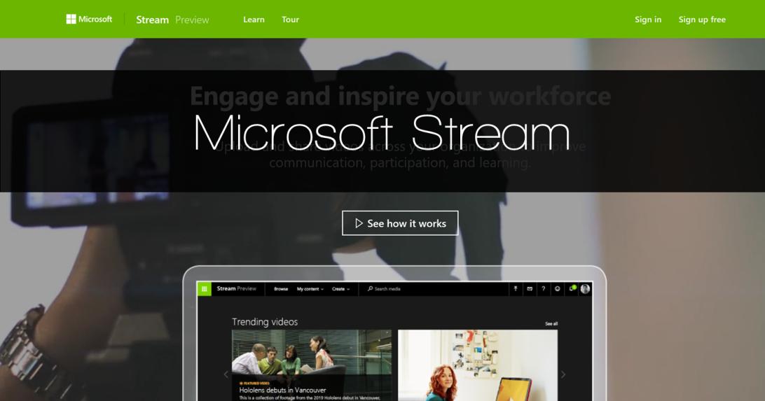 初探 Microsoft Stream:三大智慧黑科技讓影片自動產生字幕、臉部辨識、一秒找到你要的片段!