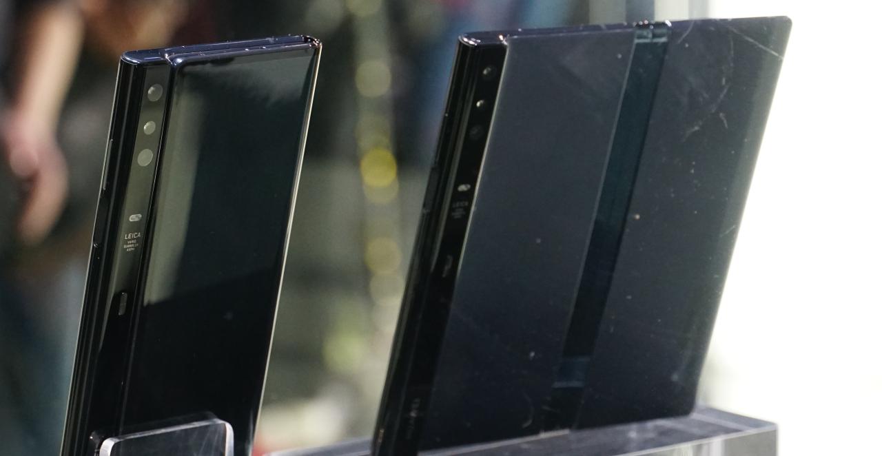 HUAWEI Mate X 長這樣!目前最強大的折疊手機設計