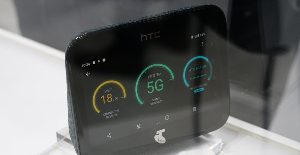 HTC 首款 5G 分享器亮相,可家用、企業用、也可隨行攜帶