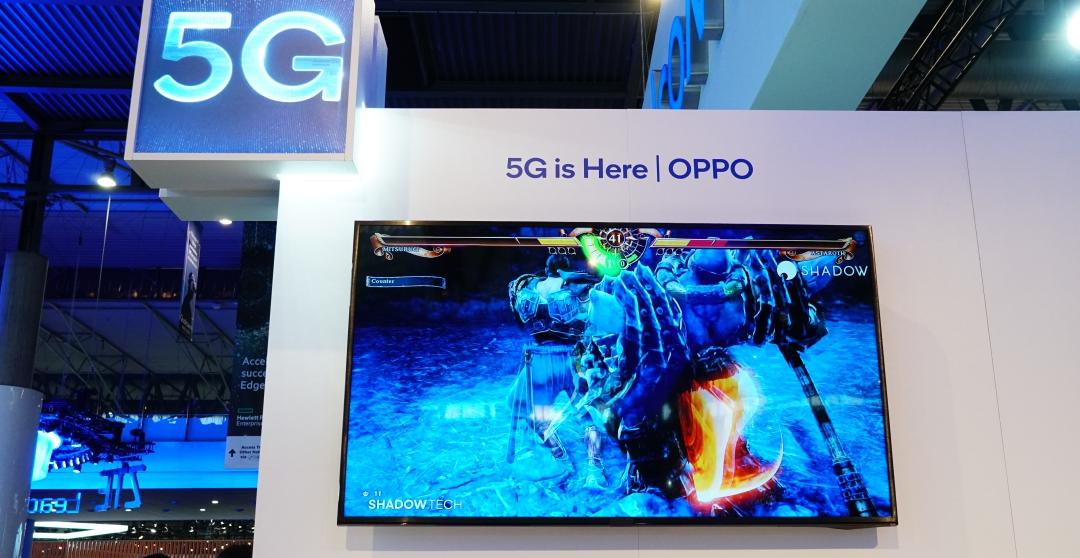 OPPO 聯合高通展出 5G 技術,3A 等級遊戲大作在手機上也能玩