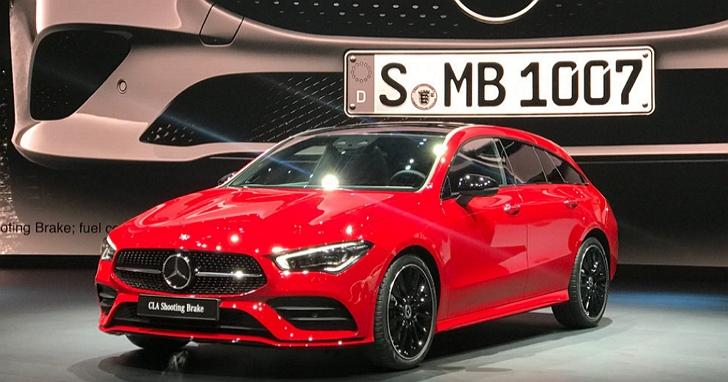 2019日內瓦車展:賓士CLA ShootingBrake延續優雅造型