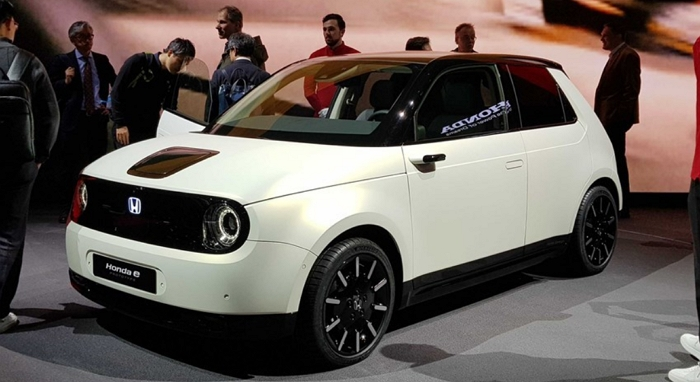 Honda推出復古電動車Honda e Prototype,續航里程達200公里