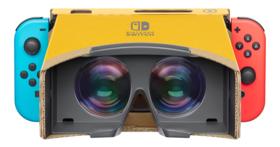 任天堂再度挑戰 VR 產品,但這次利用的是 Switch 的 Labo 厚紙板玩具