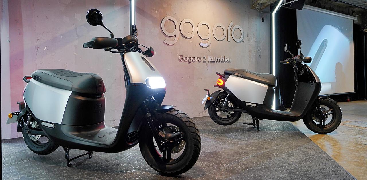 Gogoro 新車小改款上市!Gogoro 2 Rumbler「閃霧銀」細節現場看