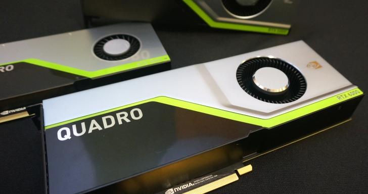 24萬元的NVIDIA Qaudro RTX繪圖卡厲害在哪?將AI與光線追蹤導入3D即時動畫與繪圖