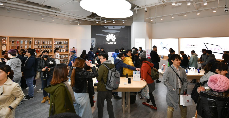 HUAWEI 台北大直 ATT 體驗店開幕,消費滿萬送下午茶抵用券